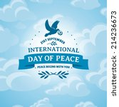International Day Of Peace...