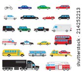 the collection of simple and... | Shutterstock . vector #214252213
