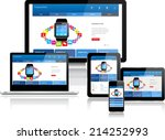 this image is a vector file... | Shutterstock .eps vector #214252993