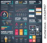 black infographic vector...