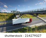 truck on the road | Shutterstock . vector #214279327