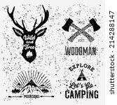 set of badges | Shutterstock .eps vector #214288147