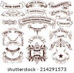 22 banners set. vector | Shutterstock .eps vector #214291573