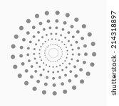 Abstract Dot Shape  Vector...