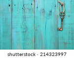 Bronze Skeleton House Key...