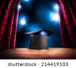 photo composite of a magic hat... | Shutterstock . vector #214419103