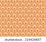 seamlessly floral pattern  | Shutterstock .eps vector #214424857