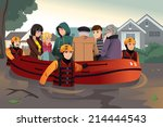 a vector illustration of rescue ...   Shutterstock .eps vector #214444543