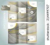 photography brochure design... | Shutterstock .eps vector #214499707