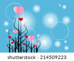 vector background | Shutterstock .eps vector #214509223