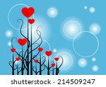 vector background | Shutterstock .eps vector #214509247