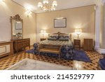 interior of a classic style... | Shutterstock . vector #214529797