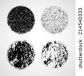 grunge circles  | Shutterstock .eps vector #214540333