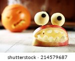 Cute Homemade Halloween Apple...