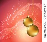 christmas background | Shutterstock .eps vector #214689517