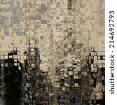 art abstract geometric pattern  ... | Shutterstock . vector #214692793