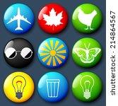vector badges set | Shutterstock .eps vector #214864567