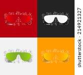 drawing business formulas ... | Shutterstock .eps vector #214921327
