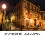 beautiful scene of lisbon in a... | Shutterstock . vector #215200987