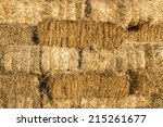 yellow straw bale wall texture...
