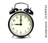 alarm clock   Shutterstock . vector #21539914