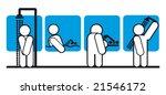 bathroom vector icons | Shutterstock .eps vector #21546172