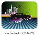city vector illustration | Shutterstock .eps vector #21546592