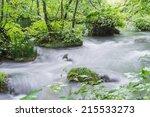 mountain stream | Shutterstock . vector #215533273