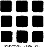 set of grunge stamp   | Shutterstock .eps vector #215572543
