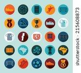 football  soccer infographic | Shutterstock .eps vector #215608873