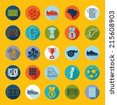football  soccer infographic | Shutterstock .eps vector #215608903
