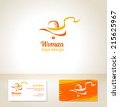 Logo Design With Woman In Hat....