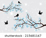 vector tree branches with...