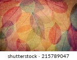 Autumn Background. Fall Leaves...