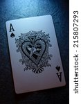 Small photo of Ace of spades