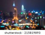 Blur Image Of Kuala Lumpur Cit...
