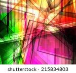 abstract background. vector... | Shutterstock .eps vector #215834803