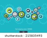 technology mechanism concept.... | Shutterstock .eps vector #215835493