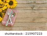 Picnic Table Setting With...