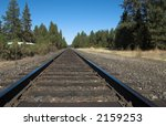 railroad tracks | Shutterstock . vector #2159253