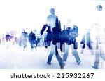 Business People Walking On A...