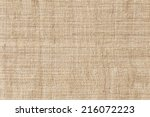 natural linen texture for the... | Shutterstock . vector #216072223