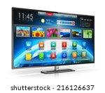 digital multimedia... | Shutterstock . vector #216126637