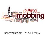 Mobbing Concept Word Cloud...