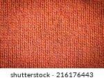 knitted pattern   Shutterstock . vector #216176443
