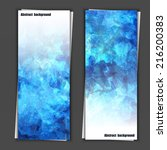 set of banner templates with... | Shutterstock .eps vector #216200383