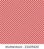 Diagonal Red Stripes Backgroun...