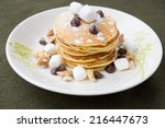 Pancakes And Chocolate Chip