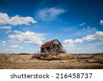 Old Abandoned Rusty Old Barn I...