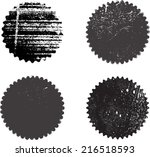 set of grunge stamp  | Shutterstock .eps vector #216518593